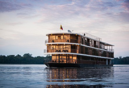 Amazon cruise in Ecuador